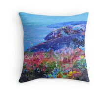Near Portreath 2 Throw Pillow