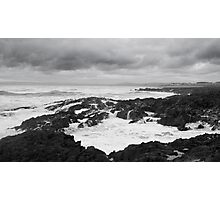 Incoming Tide, Westward Ho!  Photographic Print