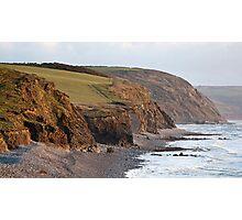 Abbotsham Cliffs Photographic Print