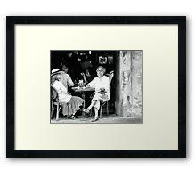 Photo Op Framed Print