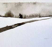 Winter Landscape V by Jamie Zubairi