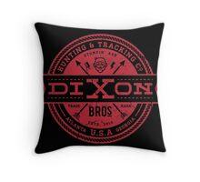 Dixon Bros. - Red Version Throw Pillow
