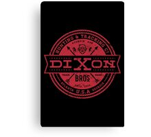 Dixon Bros. - Red Version Canvas Print