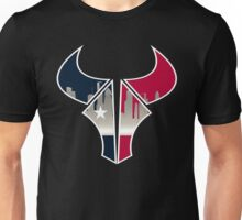 Texas Logo for black shirt Unisex T-Shirt
