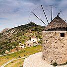 Windmill Viewpoint, Náxos by Simon Bowen