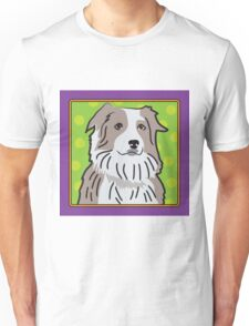 Australian Shepherd Cartoon Unisex T-Shirt