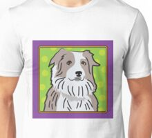 Australian Shepherd Cartoon Unisex T-Shirt