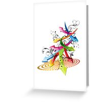 Color Arrows Greeting Card