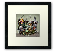 Fellowship of the Muppets Framed Print