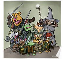 Fellowship of the Muppets Poster