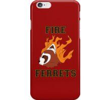 Fire Ferrets Team Spirit iPhone Case/Skin