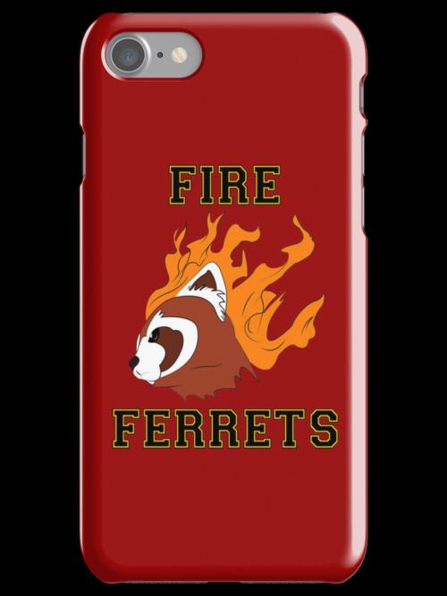 Fire Ferrets Team Spirit by scarlethue