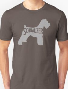 Schnauzer Grey T-Shirt