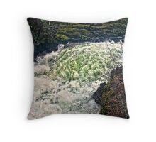 Mighty Rush Throw Pillow