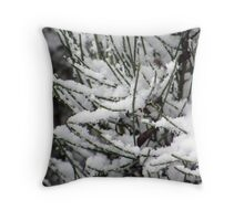 Fantasy Snowfall Throw Pillow