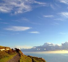 Blue Skies over the White Cliffs of Dover  by SerenaB