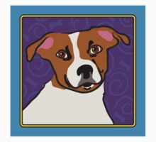 Jack Russell Cartoon Kids Clothes