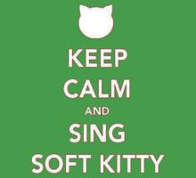 Sing soft kitty Baby Tee