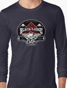 Black Lodge Coffee Company (clean) Long Sleeve T-Shirt