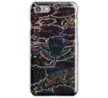 Neon Water Lily iPhone Case/Skin