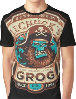 Ghost Pirate Grog Graphic T-Shirt