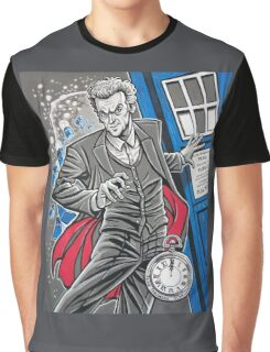"""The Twelfth Doctor (""""All Thirteen!"""") Graphic T-Shirt"""