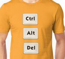 CTRL + ALT + DEL Unisex T-Shirt