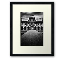 Kirby Hall Framed Print
