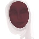 Muslim Woman - Oil Study by Sarah Countiss