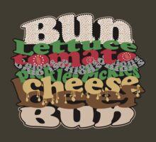 Cheesy Burger by jaxrobyn