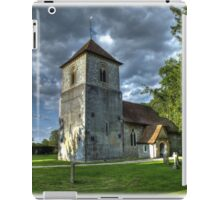Evensong,The Church Of St Mary The Virgin, Winchfield iPad Case/Skin