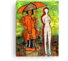 WE Can ENDURE All Kinds of Weather Canvas Print