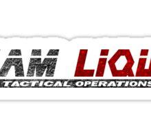 Metal Gear Online - Team Liquid - Black Sticker