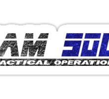 Metal Gear Online - Team Solid - Black Sticker