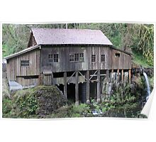 Cedar Creek grist mill Poster