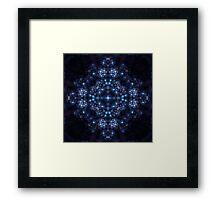 Diamond Blossoms Framed Print