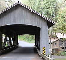 Covered Bridge by elginbigguy