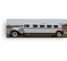 Old Limo Canvas Print