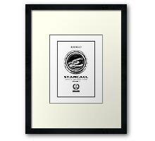 Starcall 1, title page Framed Print