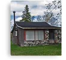 Stonefaced Cottage Canvas Print