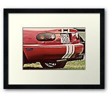 In retrospective...4--- Tipperary Vintage Rally Framed Print