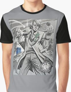 The Fifth Doctor  Graphic T-Shirt
