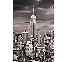 Skyline of New York City Photographic Print