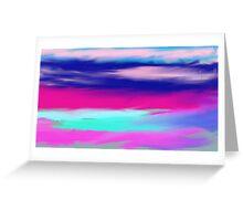 Barbados Sky Greeting Card