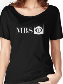 Mordor Broadcasting System (White) Women's Relaxed Fit T-Shirt