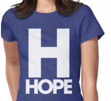 H hope Womens Fitted T-Shirt