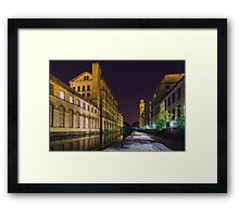 Saltaire Leeds and Liverpool Canal Framed Print