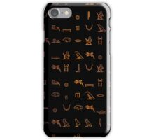 Written in stone. iPhone Case/Skin