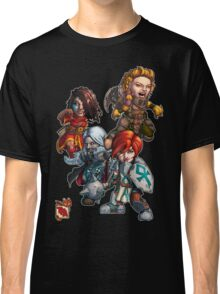 Tiny Fantasy Adventures: Core Party! Classic T-Shirt