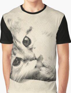Kitten Graphic T-Shirt